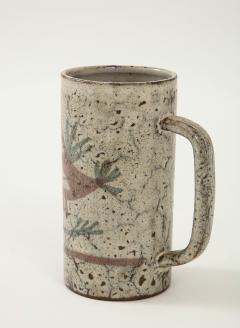 Gustave Raynaud Decorative Vintage Ceramic Jug by Gustave Raynaud circa 1960 - 1281639