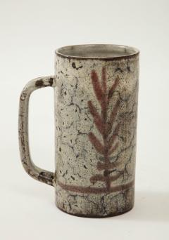 Gustave Raynaud Decorative Vintage Ceramic Jug by Gustave Raynaud circa 1960 - 1281640