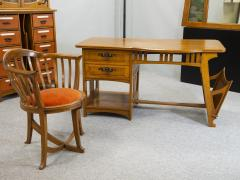 Gustave Serrurier Bovy Gustave Serrurier Bovy Desk and chair - 1709933