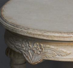 Gustavian Style Oval Table - 111505