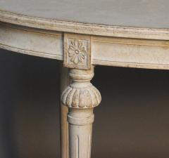 Gustavian Style Oval Table - 111508