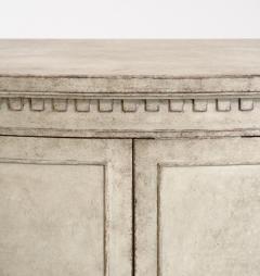Gustavian style demi lune sideboard circa 100 years old - 1039339