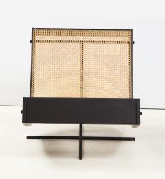 Gustavo Bittencourt Contemporary Benjamin Lounge Chair with Ottoman by Gustavo Bittencourt Brazil - 2044699