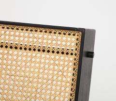 Gustavo Bittencourt Contemporary Benjamin Lounge Chair with Ottoman by Gustavo Bittencourt Brazil - 2044701