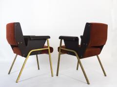 Gustavo Pulitzer Finali Pair of Albenga armchairs for Arflex - 1117336