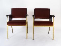 Gustavo Pulitzer Finali Pair of Albenga armchairs for Arflex - 1117337