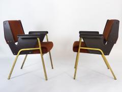 Gustavo Pulitzer Finali Pair of Albenga armchairs for Arflex - 1117338