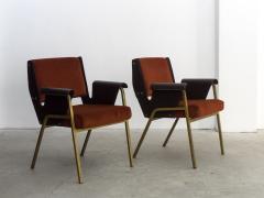 Gustavo Pulitzer Finali Pair of Albenga armchairs for Arflex - 1117341