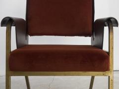 Gustavo Pulitzer Finali Pair of Albenga armchairs for Arflex - 1117343