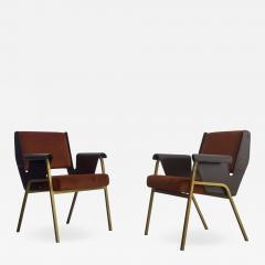 Gustavo Pulitzer Finali Pair of Albenga armchairs for Arflex - 1117609