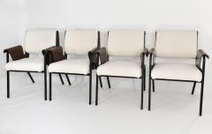 Gustavo Pulitzer Finali Set of 4 Albenga armchairs - 1312885