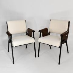 Gustavo Pulitzer Finali Set of 4 Albenga armchairs - 1312886