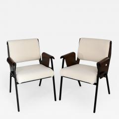 Gustavo Pulitzer Finali Set of 4 Albenga armchairs - 1314111