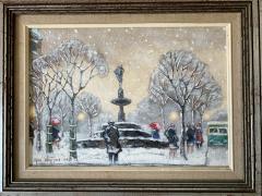 Guy Carleton Wiggins Impressionism Oil on Board Guy C Wiggins - 1513185