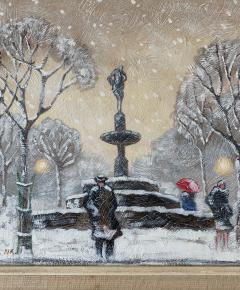 Guy Carleton Wiggins Impressionism Oil on Board Guy C Wiggins - 1513187