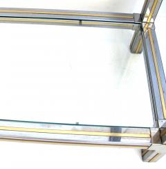 Guy LeFevre A Good Quality Chrome and Brass Console Table by Guy LeFevre for Maison Jansen - 609590