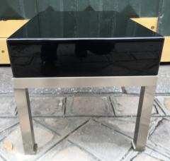 Guy LeFevre Pair of end tables by Guy Lefevre for Maison Jansen France 1970s - 1933655