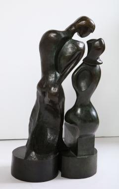 H Caesar Pair of Bronze Figures by H Caesar - 1455243