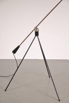 H Fillekes 1954s Floor Lamp Magneto by H Fillekes for Artifort - 829142