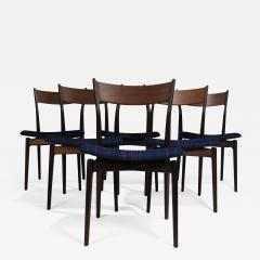 H P Hansen for Randers Danish Rosewood Dining Chairs - 1088085