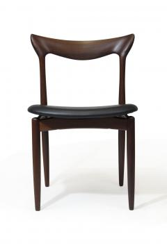 H W Klein H W Klein Sculpted Back Dining Chairs of Walnut Set of Six - 1220728