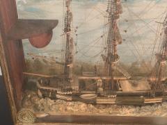 HANDMADE 1900S SHIP DIORAMA - 1084723