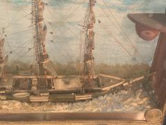 HANDMADE 1900S SHIP DIORAMA - 1084724