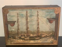 HANDMADE 1900S SHIP DIORAMA - 1084726