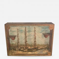 HANDMADE 1900S SHIP DIORAMA - 1085051