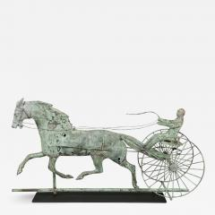 HORSE AND SULKY WEATHERVANE - 1757115