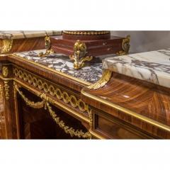 Haentges Fr res Gilt Bronze Mounted Br che Violette Marble Top Side Cabinet by Haentges Fr res - 2029737