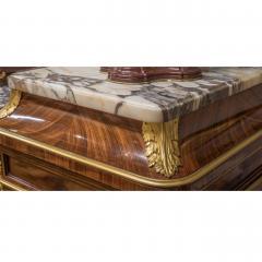 Haentges Fr res Gilt Bronze Mounted Br che Violette Marble Top Side Cabinet by Haentges Fr res - 2029743