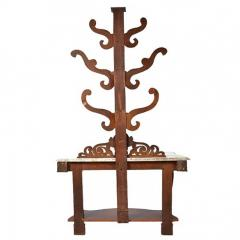 Hall Tree Console Table George IV Period England c a 1830 - 167798