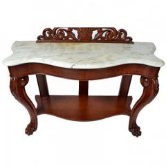 Hall Tree Console Table George IV Period England c a 1830 - 167800