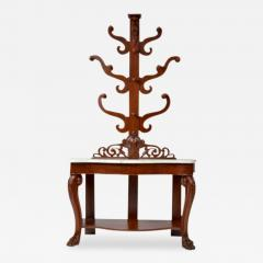 Hall Tree Console Table George IV Period England c a 1830 - 171453