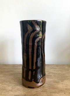 Hamada Shoji Japanese Ceramic Vase Mingei Style Hamada Shoji - 1538845