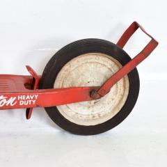 Hamilton Vintage Snappy RED SCOOTER Heavy Duty Push Kick Start 1950s USA - 1988203
