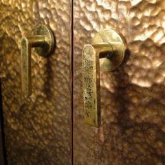 Hammered Brass Doors - 1272367