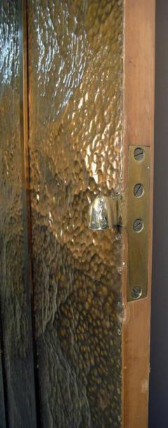 Hammered Brass Doors - 1272370