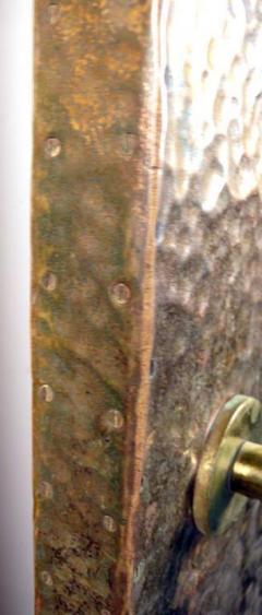 Hammered Brass Doors - 1272371