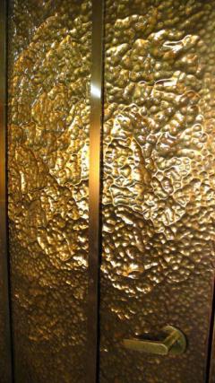 Hammered Brass Doors - 1272376