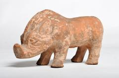 Han Dynasty Figure of a Pig - 1651222