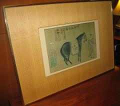 Han Kan Han Kan Chinese Framed Print of Tang Dynasty Painting - 616376