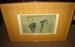 Han Kan Han Kan Chinese Framed Print of Tang Dynasty Painting - 616392