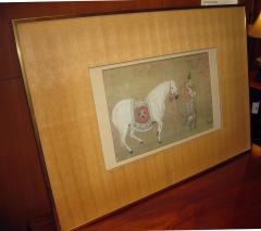 Han Kan Han Kan Chinese Framed Print of Tang Dynasty Painting - 617631