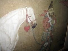 Han Kan Han Kan Chinese Framed Print of Tang Dynasty Painting - 617636