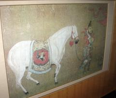 Han Kan Han Kan Chinese Framed Print of Tang Dynasty Painting - 617639