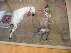Han Kan Han Kan Chinese Framed Print of Tang Dynasty Painting - 617643