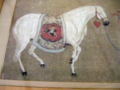 Han Kan Han Kan Chinese Framed Print of Tang Dynasty Painting - 617644