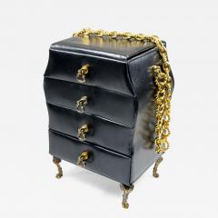 Hand Bag in the Shape of a Chest of Drawers - 396893